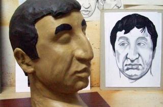 Скульптура актёра Ф.М. Мкртчяна