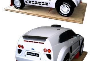 Макет концепта автомобиля LADA RAID - уменьшенная модель