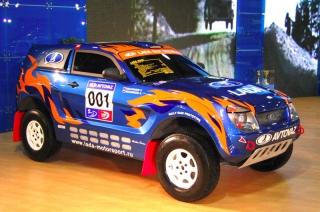 Макет концепта автомобиля LADA RAID - готовый макет